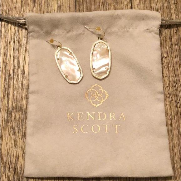 Kendra Scott Elle Gold Drop Earrings